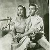 Patricia Brooks and Ray Stricklyn in the stage production The Grass Harp