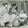 Clarice Blackburn, Ruth Attaway and Ray Stricklyn in the stage production The Grass Harp