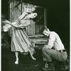 Salome Jens and Jack Kehoe in the stage production A Moon for the Misbegotten