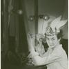 Publicity series: Betty Miller applies makeup backstage