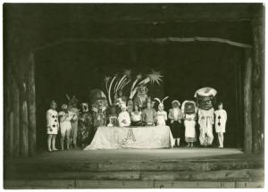 Production still, Alice in Wonderland, Maverick Theatre, Woodstock
