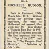 Rochelle Hudson.