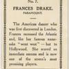 Frances Drake.