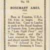 Rosemary Ames.