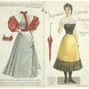 Blackwell's Durham Fashion Doll [paper doll with dress]