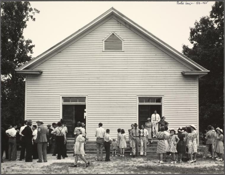 2A. Church-time. North Carolina, 1939.