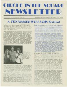 CITS newsletter, vol. 2, no.1: Winter 1967-1977