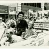 Bishop Robert Clements, Quentin Crisp, John Noble, New York Gay Pride March, 1982 June
