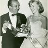 Ted Mann with Miss Page One, winning award for Long Day's Journey Into Night