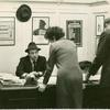 Ted Mann in Sheridan Square office