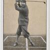 Top of swing, brassie or driver.
