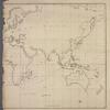 General chart of the globe, shewing the course of the Gulph Stream....