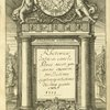 Rhetorica [Ms. title on engraved title page].