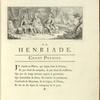 Vignette. Chant 1. Un vieillard catholique prédit à Henri de Navarre son changement de religion et son avènement au trône de France
