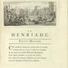 Vignette. Chant dixième. Henri IV fait porter des vivres aux Parisiens assiégés