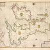 Pas-caart va Canaal vertoonende in't Gheheel, Engelandt, Schotlant, Yrlandt, en een gedeelte van Vrancrijck. Op nieus oversien en verbetert 1669.