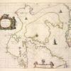 Paskaert zijde de Noordelickste Zeekusten van America van Groenlandt door de Straet Davis en de Straet Hudson tot Terra Neuf.