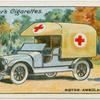 Motor ambulance.