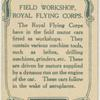 Field workshop Royal Flying Corps.