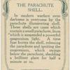 The parachute shell.