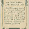 6-in. quicking firing coast defence gun.