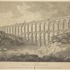 Vista pintoresca de los aqueductos de Tarragona.