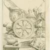 Roman triumphal chariot.