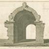 Porta di Volterra, detta all' arco, dalla parte della campagna