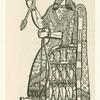 Sennacherib on his throne.