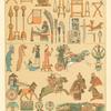 Utensilios y objetos de guerra y marina de los Babilonios y Asirios.