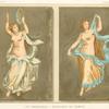 Les danseuses--peintures de Pompei