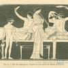 Lits de repas grecs, d'après un vase peint du Musée du Louvre
