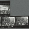 Gay Contingent, Vietnam War protest march, New York, November 6, 1971: contact sheet 2