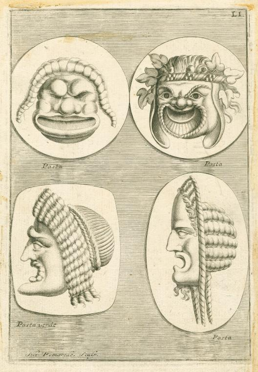 Fascinating Historical Picture of Silvio Pomarede in 1736