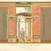 Décoration d'une villa--peinture de Pompéi.