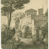 View from the south side of Pompeii, with the Greek temple on the Forum Triangulare