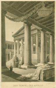 Der Tempel des Apollo. Digital ID: 1621130. New York Public Library