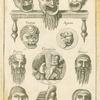 Roman masks.