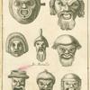 Ancient Roman comedy masks