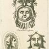 Ancient Roman theatre masks.