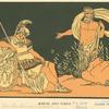 Aeneas and Tiber.
