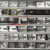 Greenwich Village, New York City, 1969 contact sheet 1