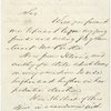 Autograph endorsement signed on verso of letter to Lincoln from Rear Admiral S. F. Dupont