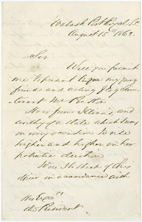 on 8/15/1862