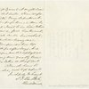 Autograph endorsement signed on verso of A.L.S., Aug 15, 1862 to Lincoln from Rear Admiral S. F. Dupont