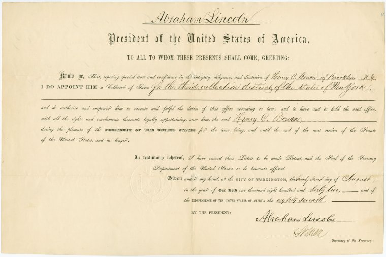 on 8/22/1862
