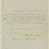 "Authorization to Secretary of State to affix seal to ""my proclamation of the additional article for the suppression of the African slave trade between the United States and Great Britain..."