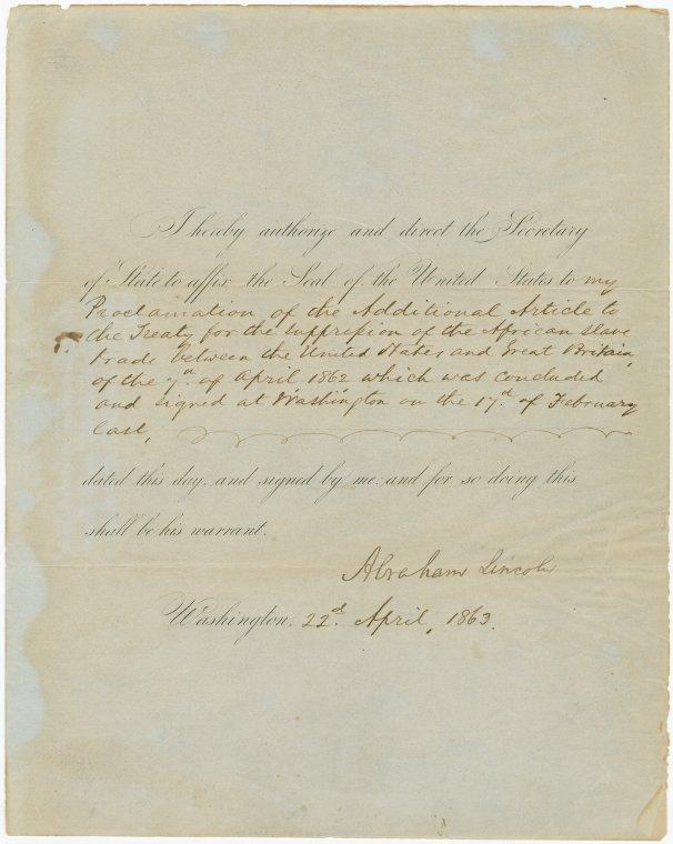 on 4/22/1863