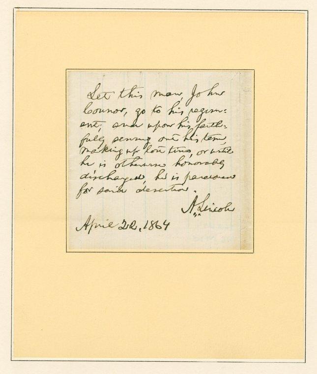 on 4/22/1864