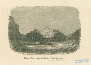 Mount Hor : Aaron's Tomb.